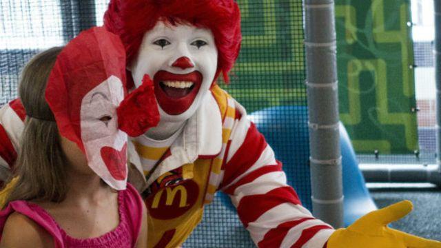 Payaso Ronald McDonald's