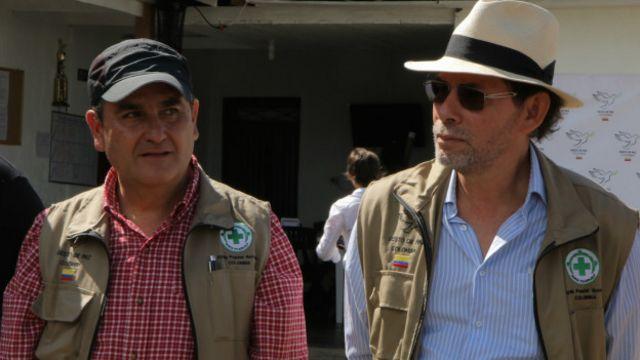 Rafael Colón y Pastor Alape