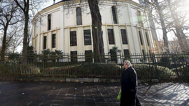 Mezquita en Belgica