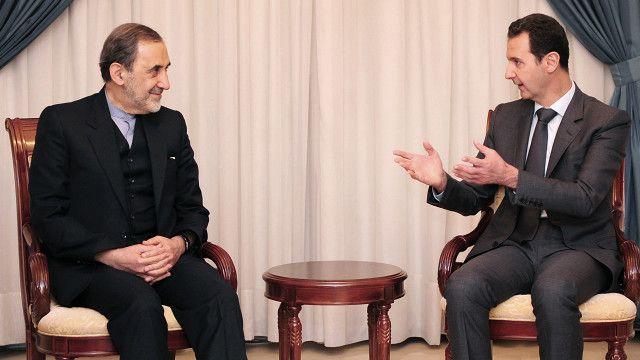 """آقای ولایتی روز یکشنبه ۸ آذر (۲۹ نوامبر) با همراهی هیئتی ایرانی برای """"دیدار با مقامهای بلندپایه سوریه"""" وارد دمشق شد"""