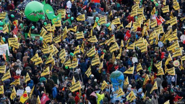 Las protestas de Berlín fueron de las más multitudinarias.