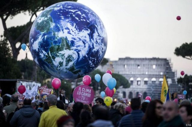 Марш против изменения климата