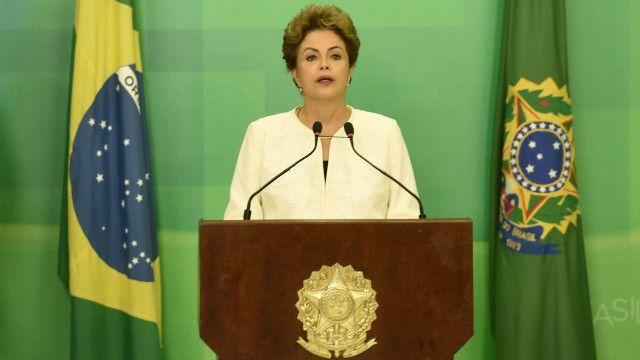 Dilma discursou em rede nacional sobre situação política: 'São inconsistentes e improcedentes as razões que fundamentam este pedido'