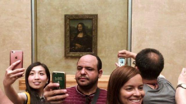 هل يمكن أن يكون هناك صورة أخرى تحت رسم موناليزا؟