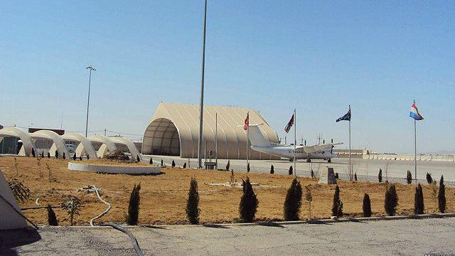 شورشیان در یک مکتب در نزدیکی فرودگاه قندهار جابجا شده اند