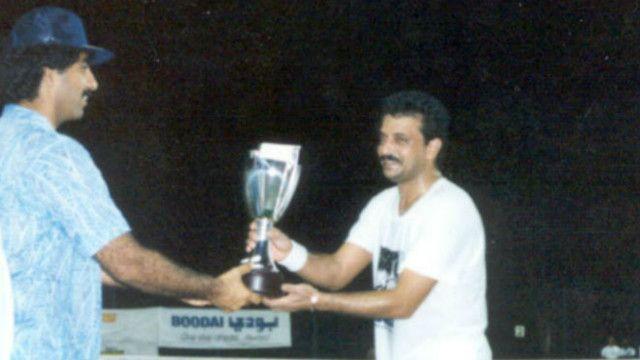 کامبیز درفشی جوان به همراه منصور بهرامی مدال طلای مسابقات تنیس قهرمانی آسیا را کسب کرد