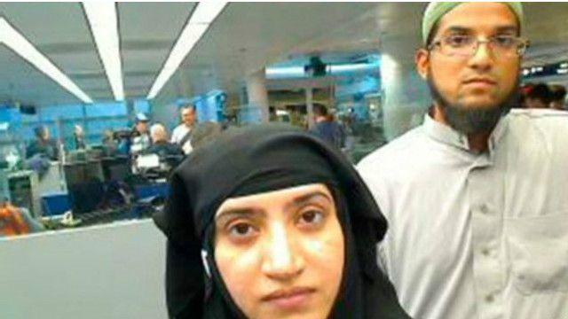 Syed Rizwan Farook, sağda və onun həyat yoldaşı Tashfeen Malik, dekabr ayında 14 nəfəri qətlə yetirib