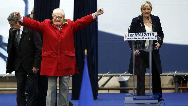 صراعا مارين مع والدها كان من أجل الخط السياسي للحزب