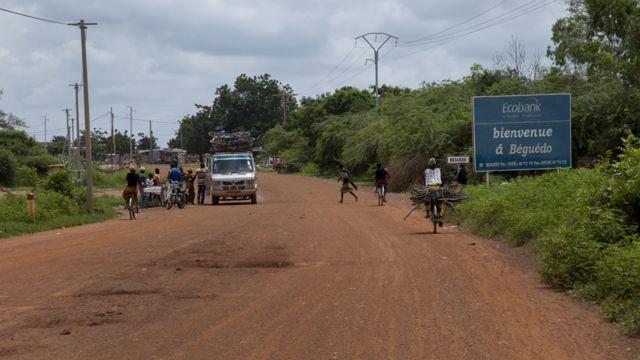 Hanyar zuwa Beguedo a Burkina Faso