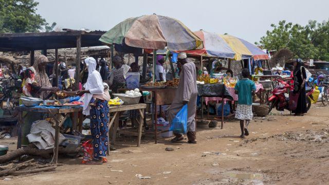Kasuwar Beguedo a Burkina Faso