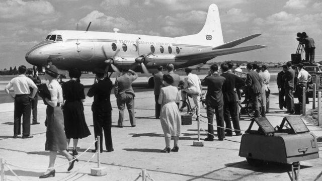 Avión Vickers Viscount