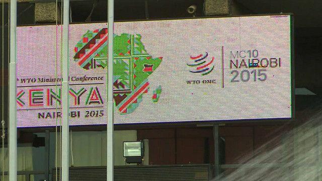 دهمین نشست وزیران کشورهای عضو سازمان تجارت جهانی در شهر نایروبی برگزار شده است