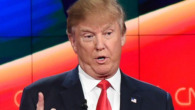 Trump lidera las encuestas en la carrera republicana por la candidatura presidencial estadounidense.