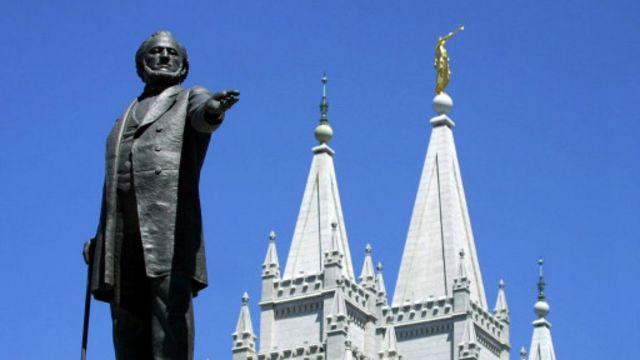 杨百翰(Brigham Young),耶稣基督后期圣徒教会(摩门教会)第二任总会会长AFP/Getty Images)