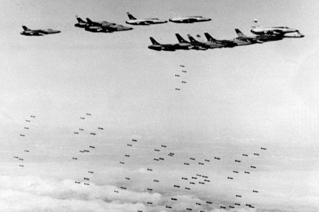 Phía TQ nói họ bắn rơi 1707 phi cơ của Không lực Hoa Kỳ trên bầu trời Bắc Việt Nam