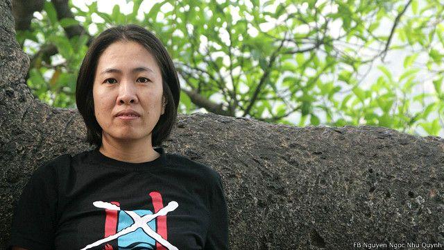 Blogger Mẹ Nấm tính đến cuối ngày 10/10 vẫn đang bị giữ tại trại giam của công an Khánh Hòa, theo lời bà Tuyết Lan