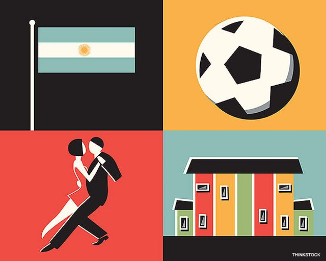 Collage sobre Argentina