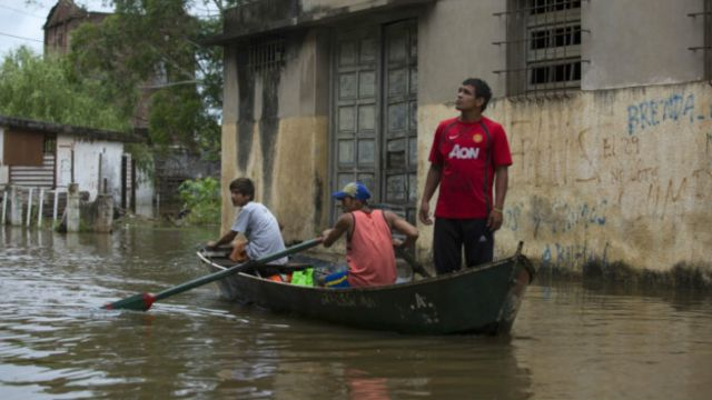 Las inundaciones en la provincia argentina de Entre Ríos también se han asociado a El Niño.