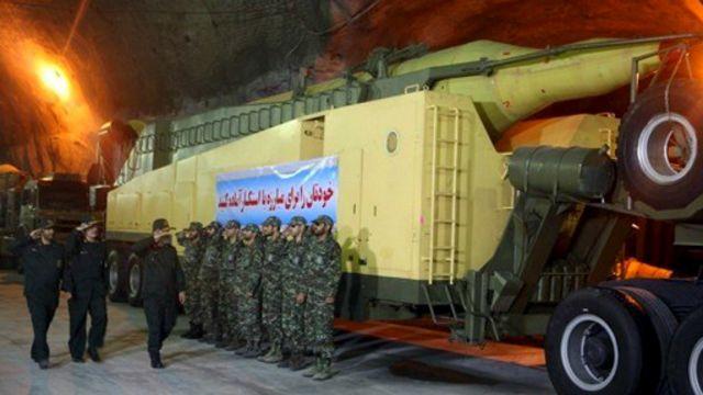 سرتیپ سلامی میگوید ایران صدها تونل مملو از موشک دارد
