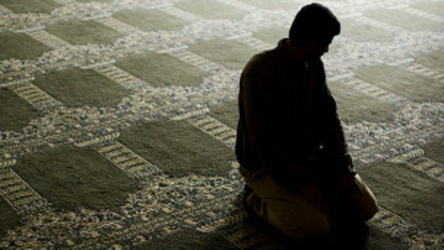 Musulmán en oración