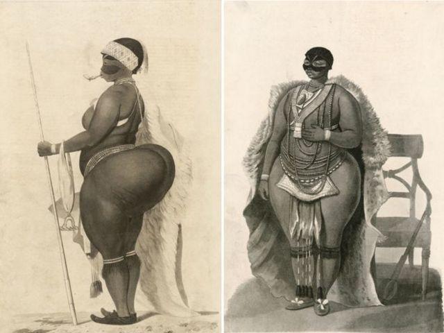 Em outubro de 1810, Sarah Baartman foi levada da África do Sul à Grã-Bretanha para aparecer em espetáculos. (Foto SPL)