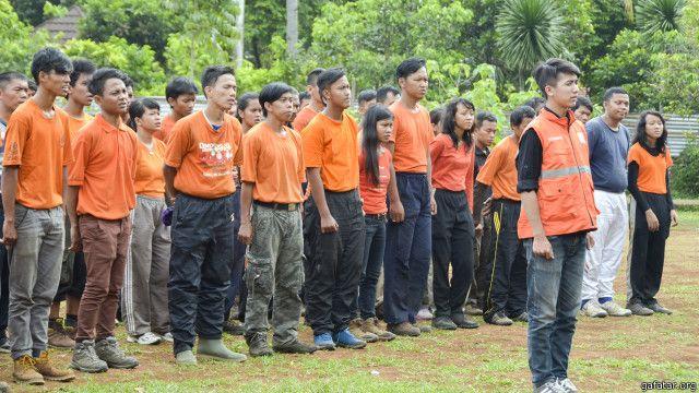 Aktivitas kelompok Gafatar.