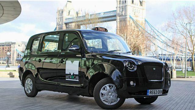 Работающее на батареях такси Metrocab поможет снизить токсичность лондонского транспорта