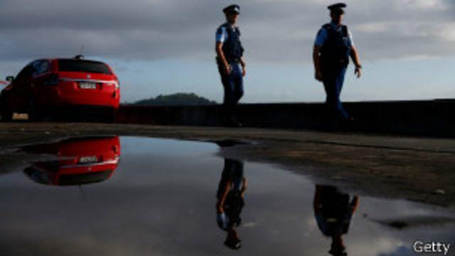 Nueva Zelanda y otras nueve islas nación del Pacífico Sur también están en la lista de países en los que la policía ordinaria no va armada.