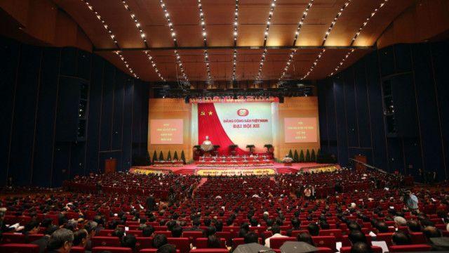 Đại hội 12 Đảng CSVN đang diễn ra ở Hà Nội