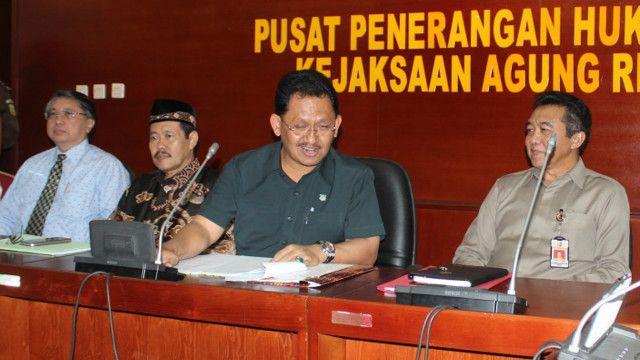 Tim Pakem laksanakan konferensi pers terkait Gafatar.