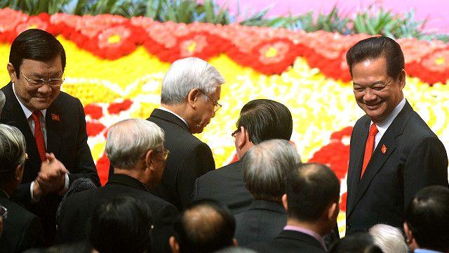Cả Thủ tướng Nguyễn Tấn Dũng và Chủ tịch Trương Tấn Sang đều xin rút lui khỏi danh sách đề cử và đã được Đại hội đồng ý