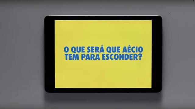 Publicidade de Dilma citou o fato de Aécio ter sido flagrado em blitz da lei seca
