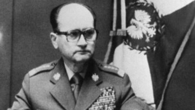 ပိုလန်ကွန်မြူနစ်ပါတီမှ နောက်ဆုံးစစ်အာဏာရှင် ဗိုလ်ချုပ်ကြီး Wojciech Jaruzelski (1923-2014)