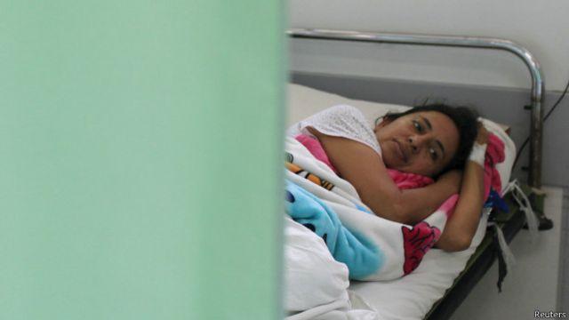 Paciente con Guillain-Barré en San Salvador.