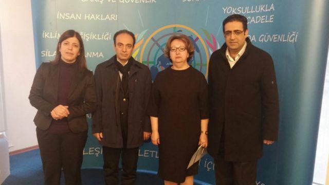 HDP heyeti Birleşmiş Milletler Türkiye temsilciliğini zyaret ederek Cizre konusunda adım atılması talebini iletti.