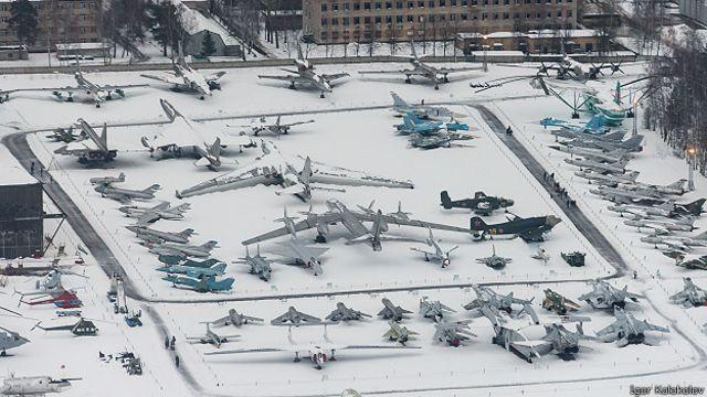 Музей авиации в Монино