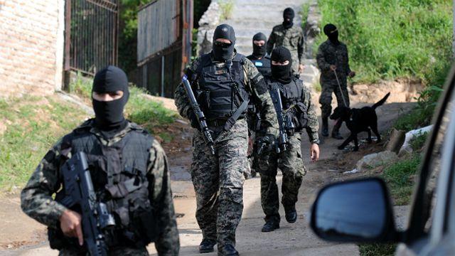 Agentes en Honduras