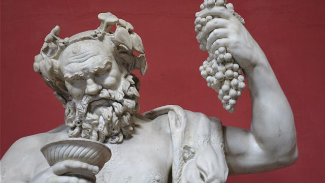 Бахус с чашей вина (скульптура)