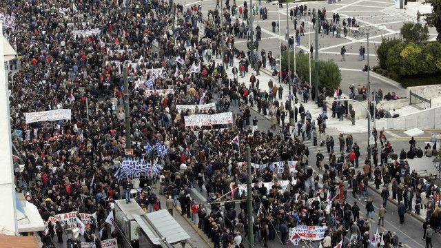 這次大罷工是總理齊普拉斯1年前上任以來,他的聯合政府所面臨的最大規模罷工。