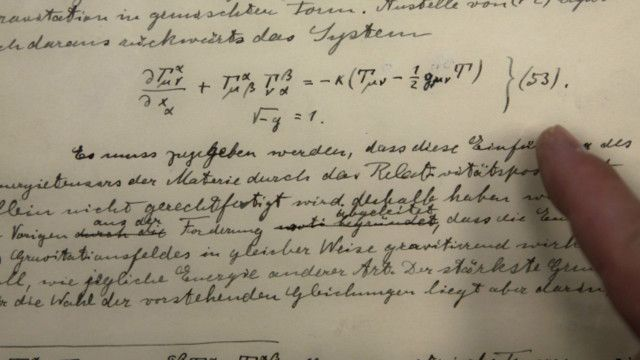 Descoberta anunciada nesta quinta-feira comprova teoria centenária de Einstein (acima)