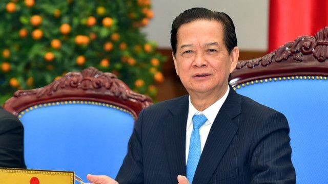 Thủ tướng Nguyễn Tấn Dũng xuất hiện hai tuần trước khi chủ trì phiên họp thường kỳ của Chính phủ
