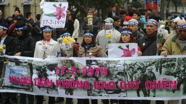 Cảnh diễn ra ở Hà Nội ngày 17/2/2016