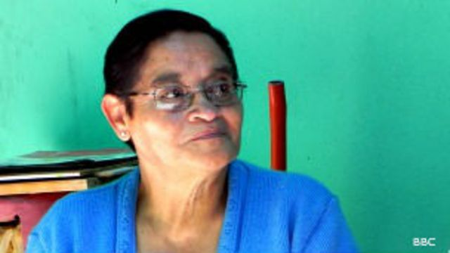 Guadalupe González, vecina de Iztapalapa, México