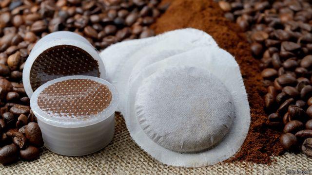 Cápsulas de café