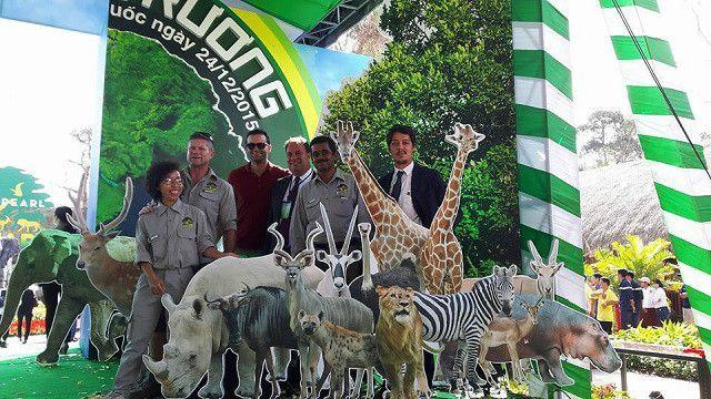 Vinpearl Safari cho biết họ nhập thú từ Mỹ, châu Âu và Nam Phi
