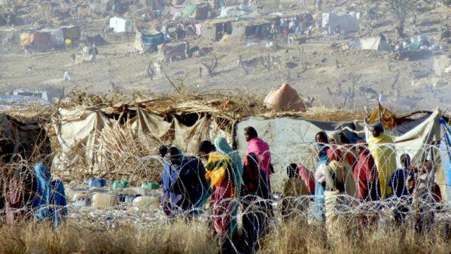 تقول الأمم المتحدة إن أكثر من مليون شخص نزحوا بسبب الصراع في دارفور