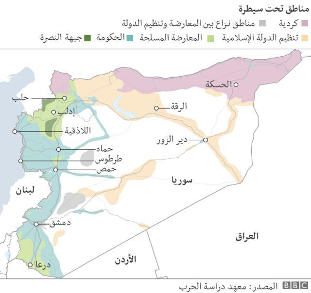 سوريا - خارطة