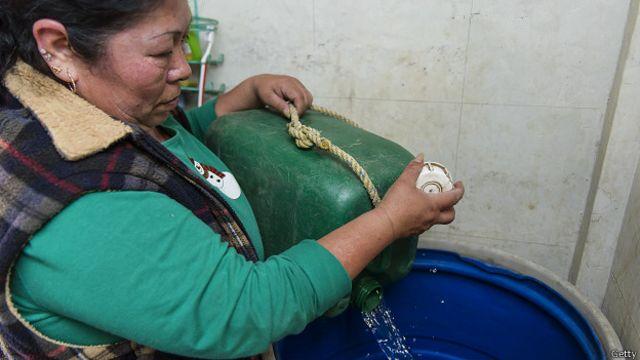 El del agua es un problema cada vez más urgente en Ciudad de México.