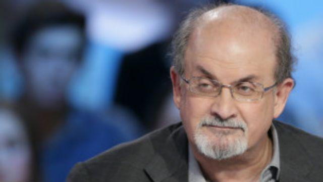El escritor británico Salman Rushdie