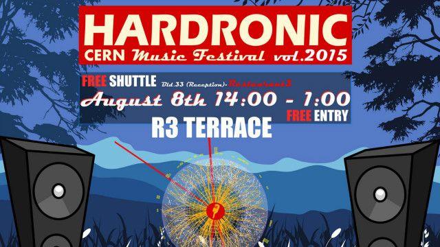 Afiche del Festival de Música del CERN